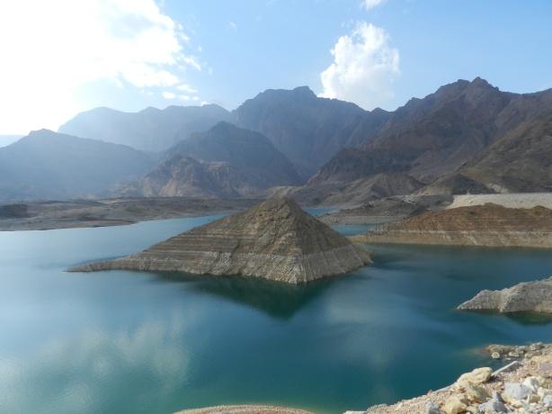 Wadi Dayqah Dam in Quriyat