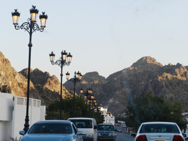 A typical road in Muscat. Pix credit: Swati.