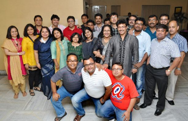 A recent re-union of the our South Point batch in Kolkata (Pix by Sanjoy Saha taken from our FB Group page)