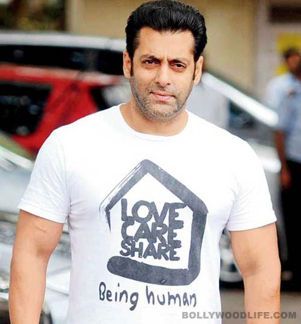 Salman Khan (photograph from the internet)