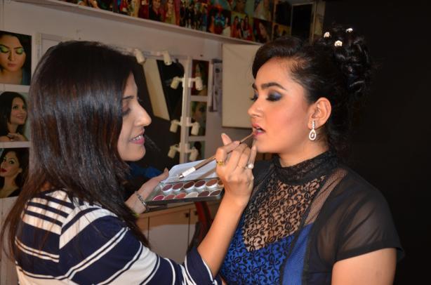 Swati at work