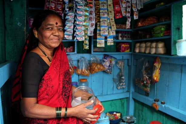 Mala took her first leap out of the Devadasi system when she opened her pan shop
