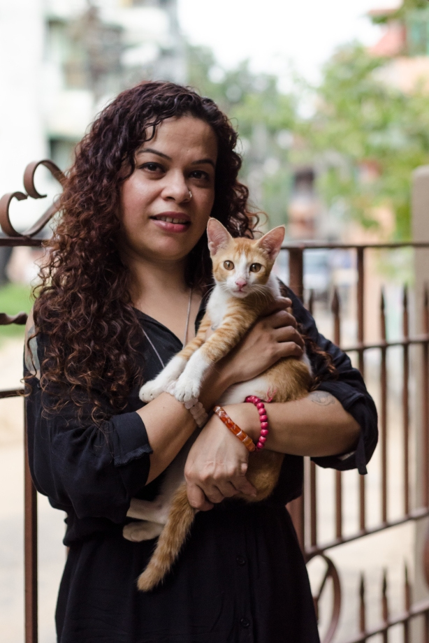 Suzette Jordan (Pix by Diganta Gogoi published in Friday)