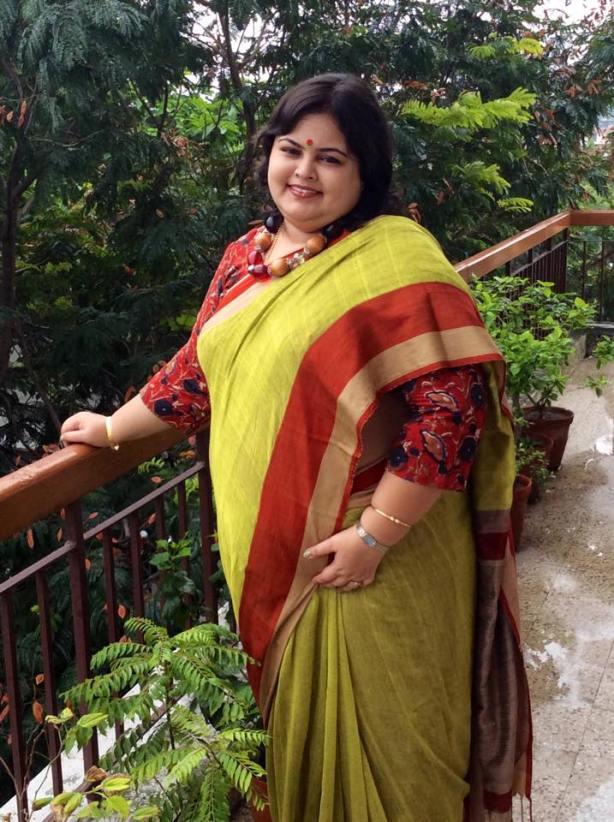 Handloom from Cupraa by Sarmishtha Som