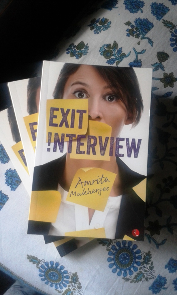 Exit Interview is a fiction published by Rupa Publications