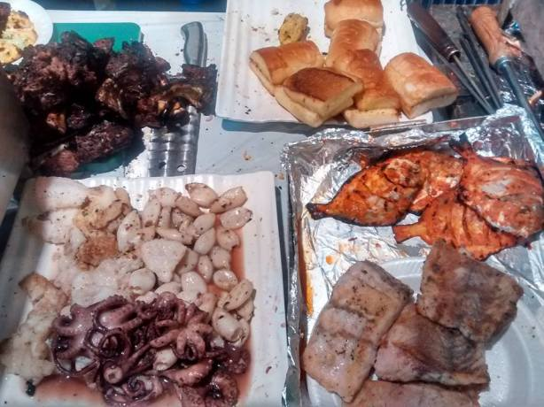 The spread at the do