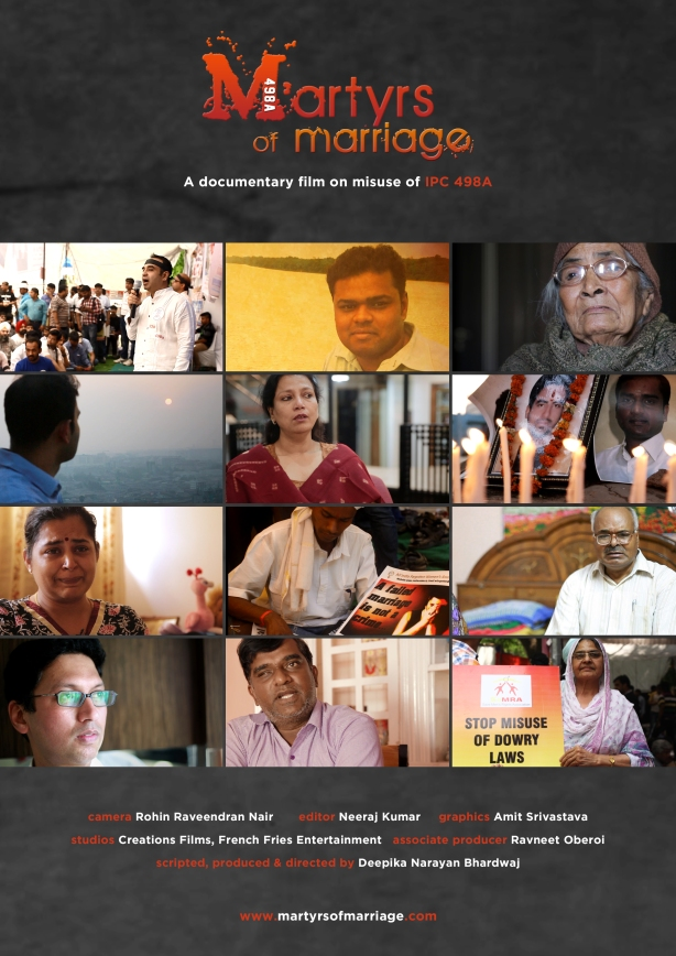 Poster of the documentary Martyrs Of Marriage