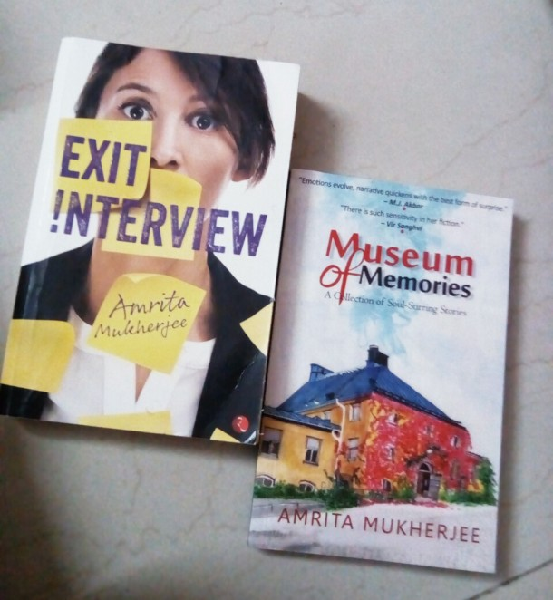 Exit Interview published by Rupa Publications and Museum of Memories by Readomania